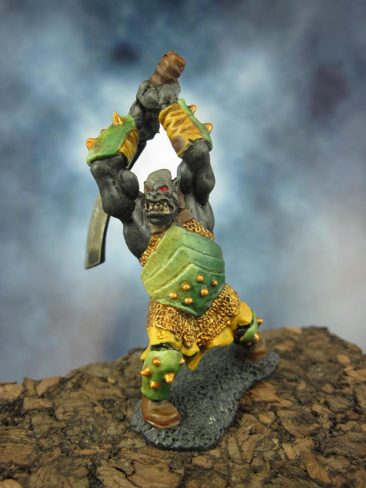 77059 Orc Berserker Two Handed Sword Show Off