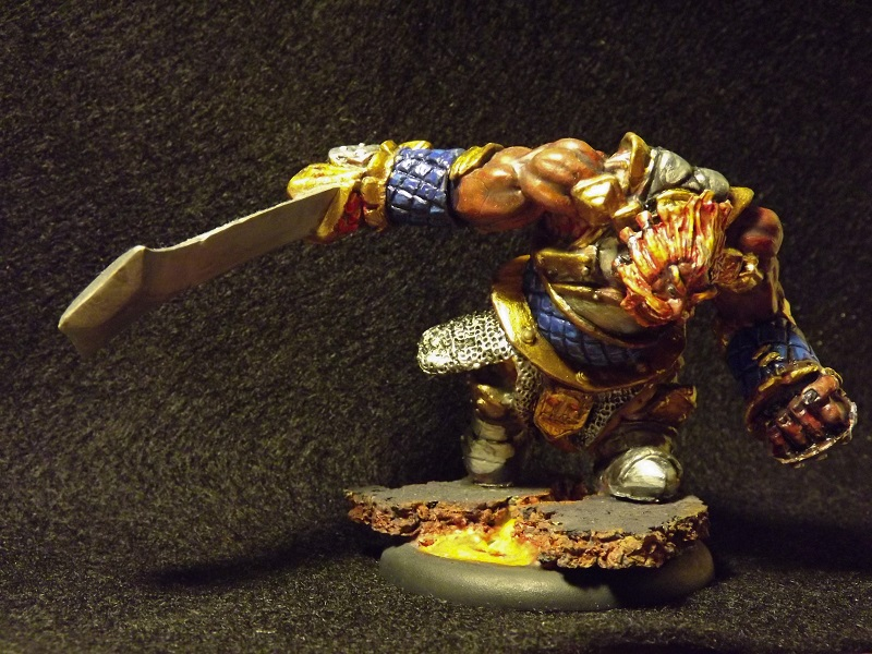 77178 Fire Giant Warrior - Show Off - Reaper Message Board