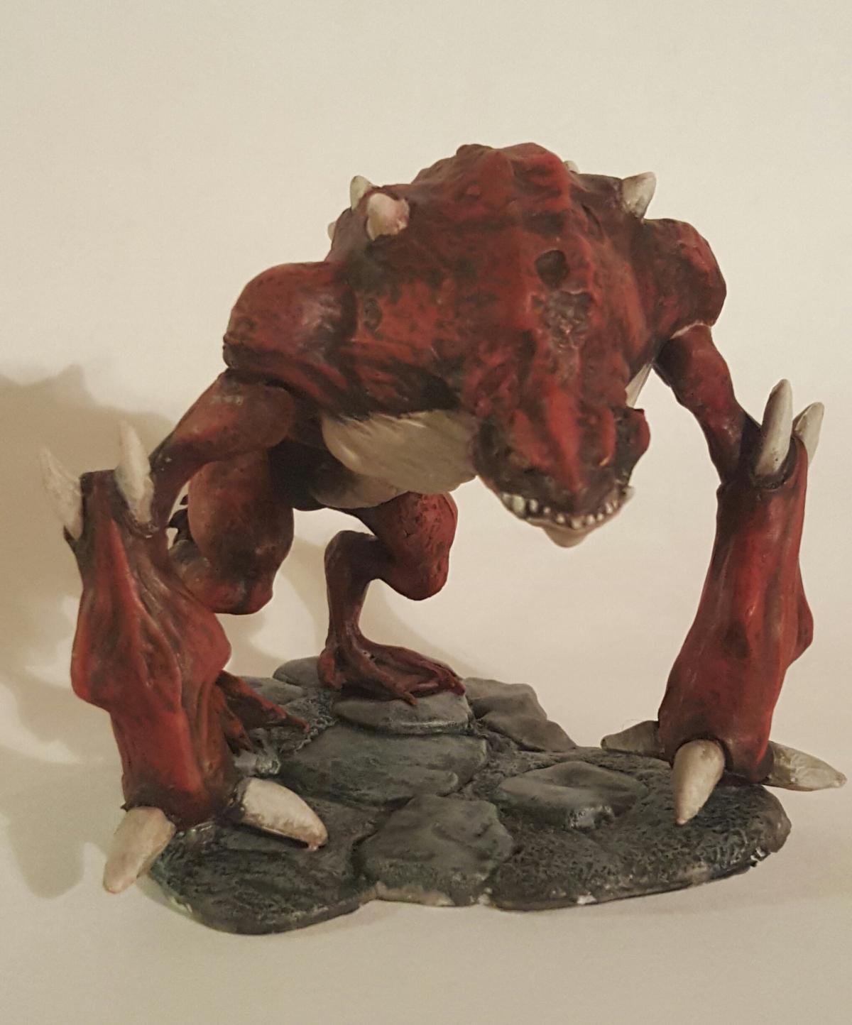 Reaper Miniatures Bones Toad Demon 77377