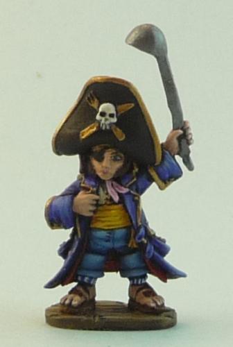 Reaper Halfling Pirate Black Scorpion Gunman Grenadier
