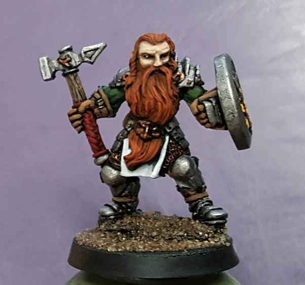 Reaper Bjorn Male Dwarven Warrior 02607 by Miniatures