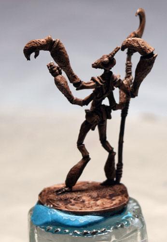 A Couple Of Mantis Warriors Thri Kreen Works In Progress
