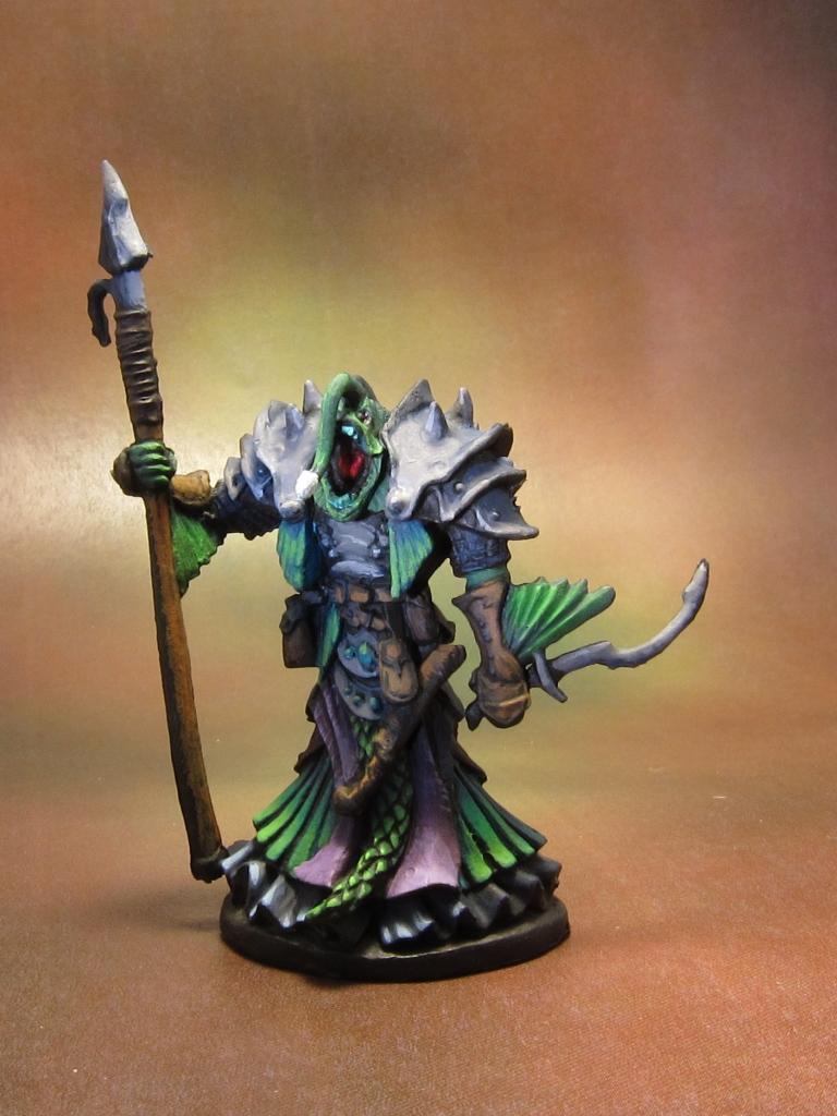 Reaper Bones 77215 Eregris Darkfathom Evil Sea Priest