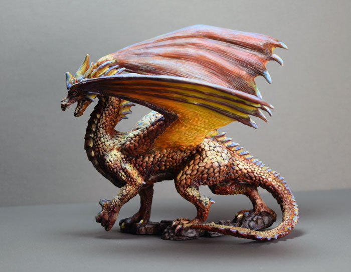 A copper dragon of the desert ( 77109: Fire Dragon ...