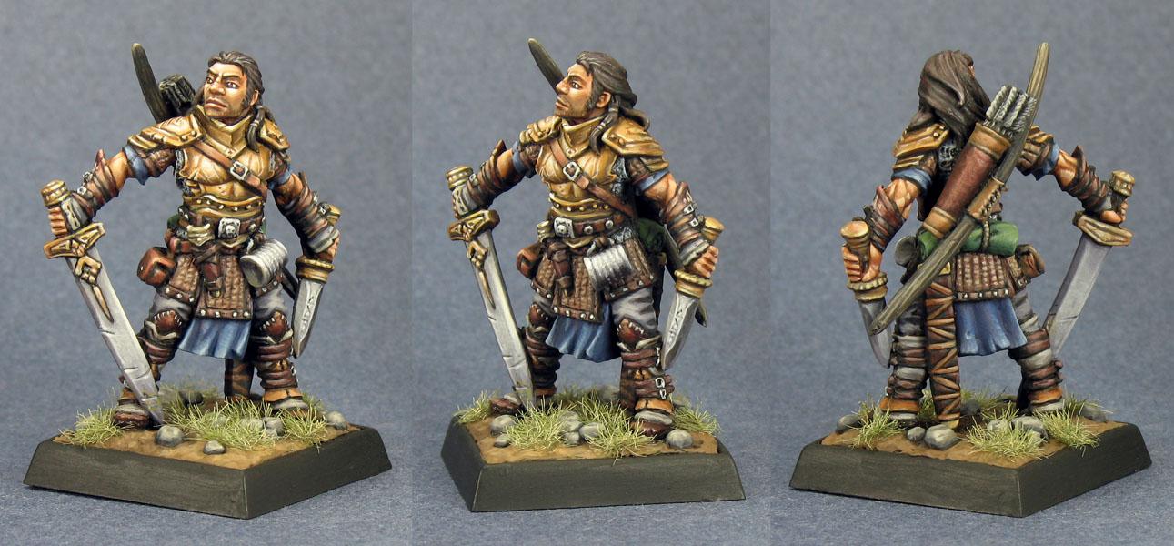 Valeros Pathfinder Miniature 60035 Valeros, ...