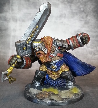 Fire Giant King Reaper - Pics about space