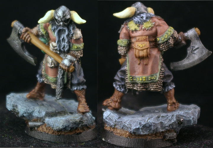 Sigurd, Mercenaries Sergeant - Show Off - Reaper Message Board