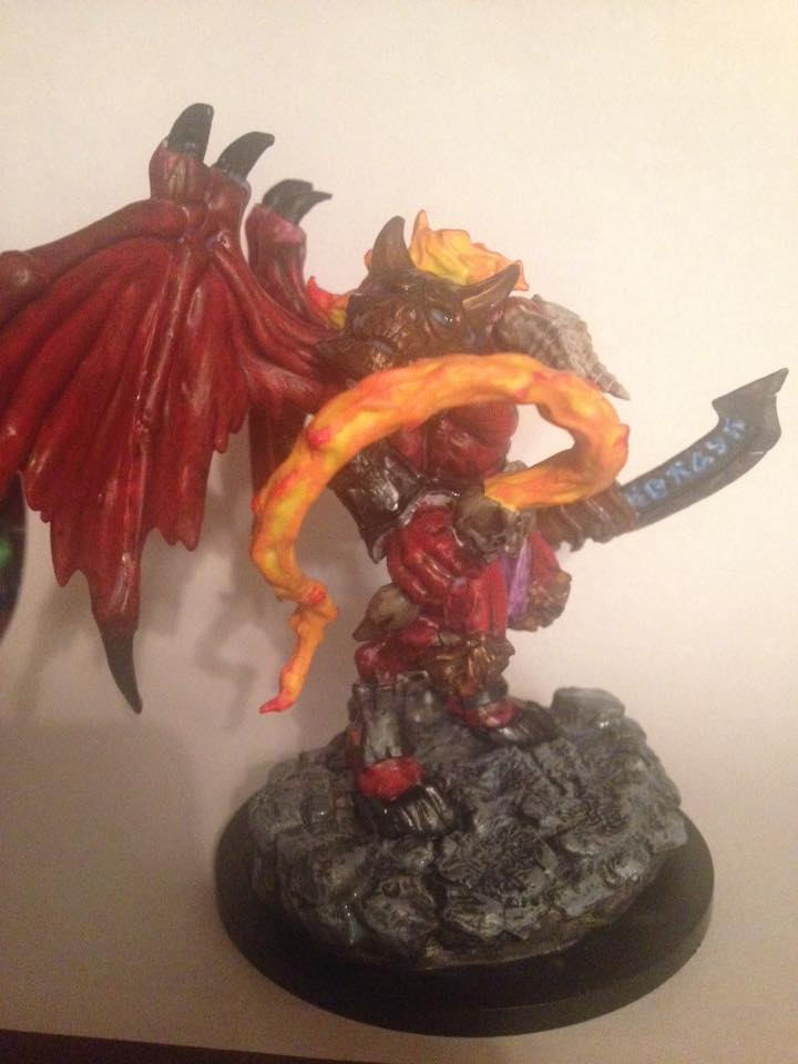 Gourls Paints 77315: Fire Demon - Show Off - Reaper ...