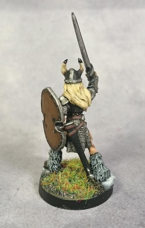 Ingrid Viking Warrior Reaper Miniatures Show Off