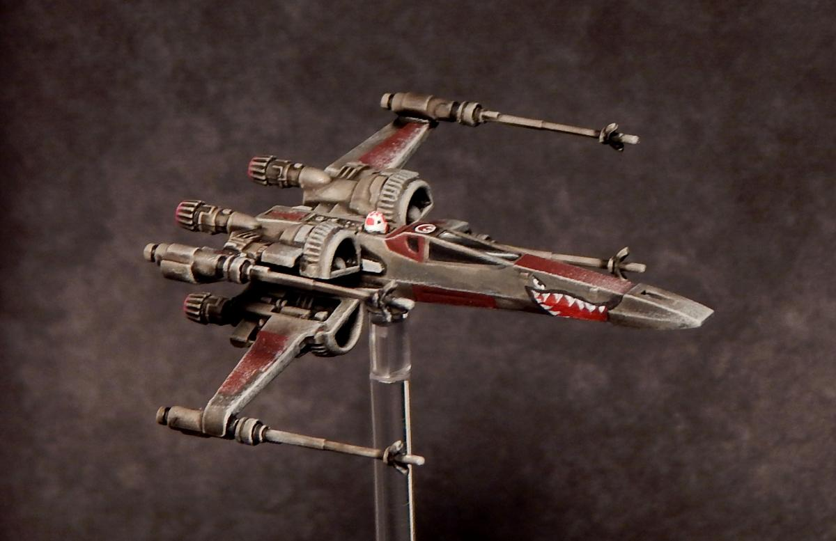 Star wars t 70 x wing repaint show off reaper message for Miroir 70 x 70