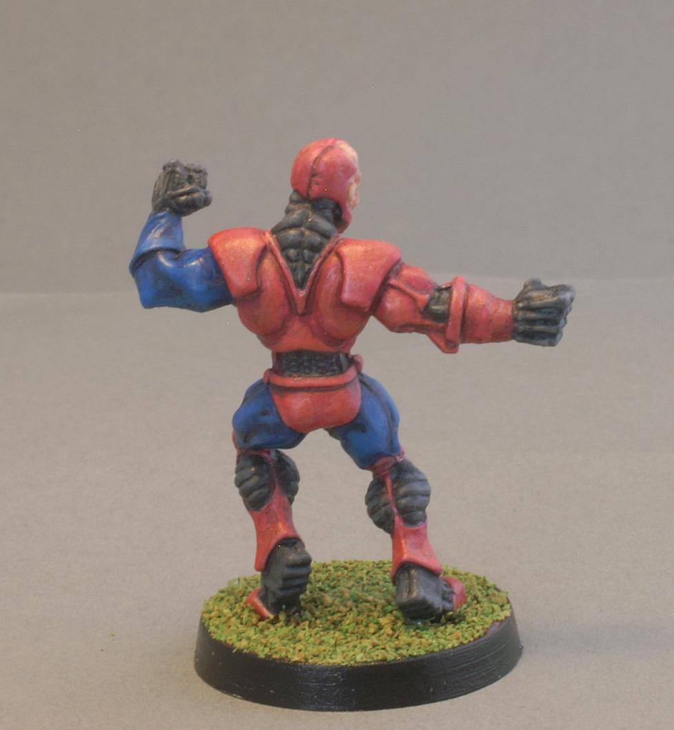 49018 Slade Reaper Bones Black Cyborg Hero