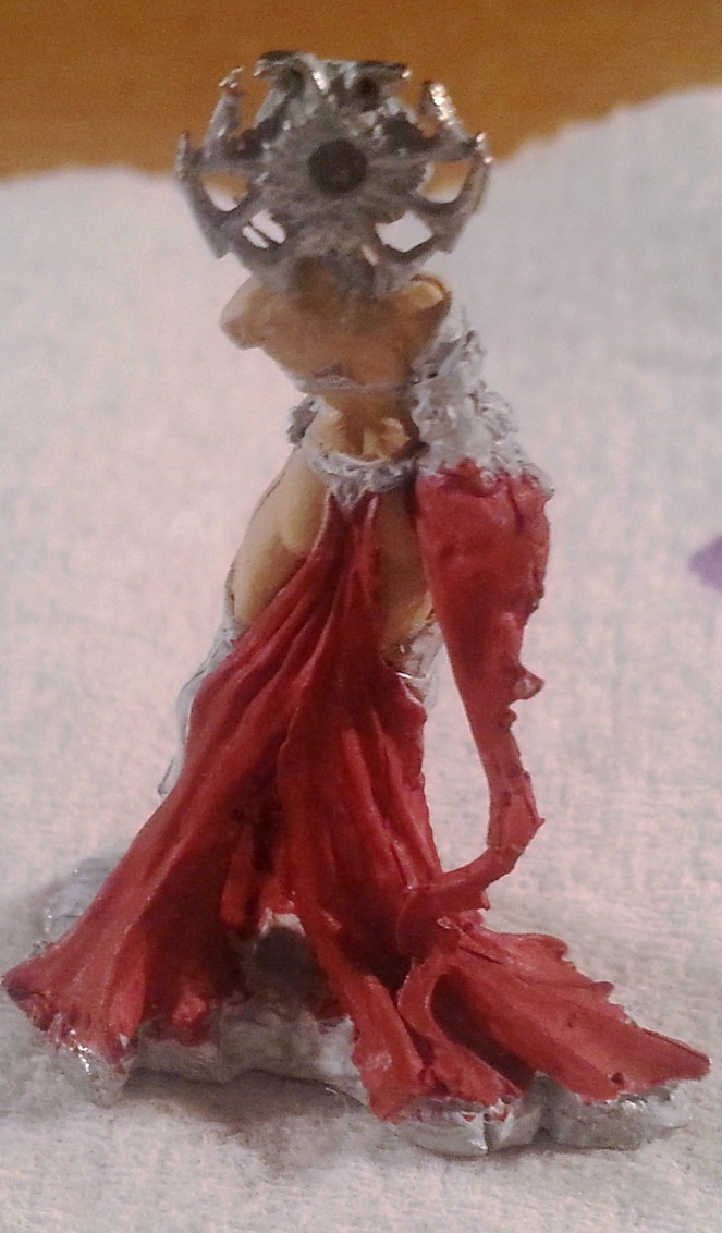 03361 Shaeress Nashanneth Dark Elf Queen Yet Another Wip