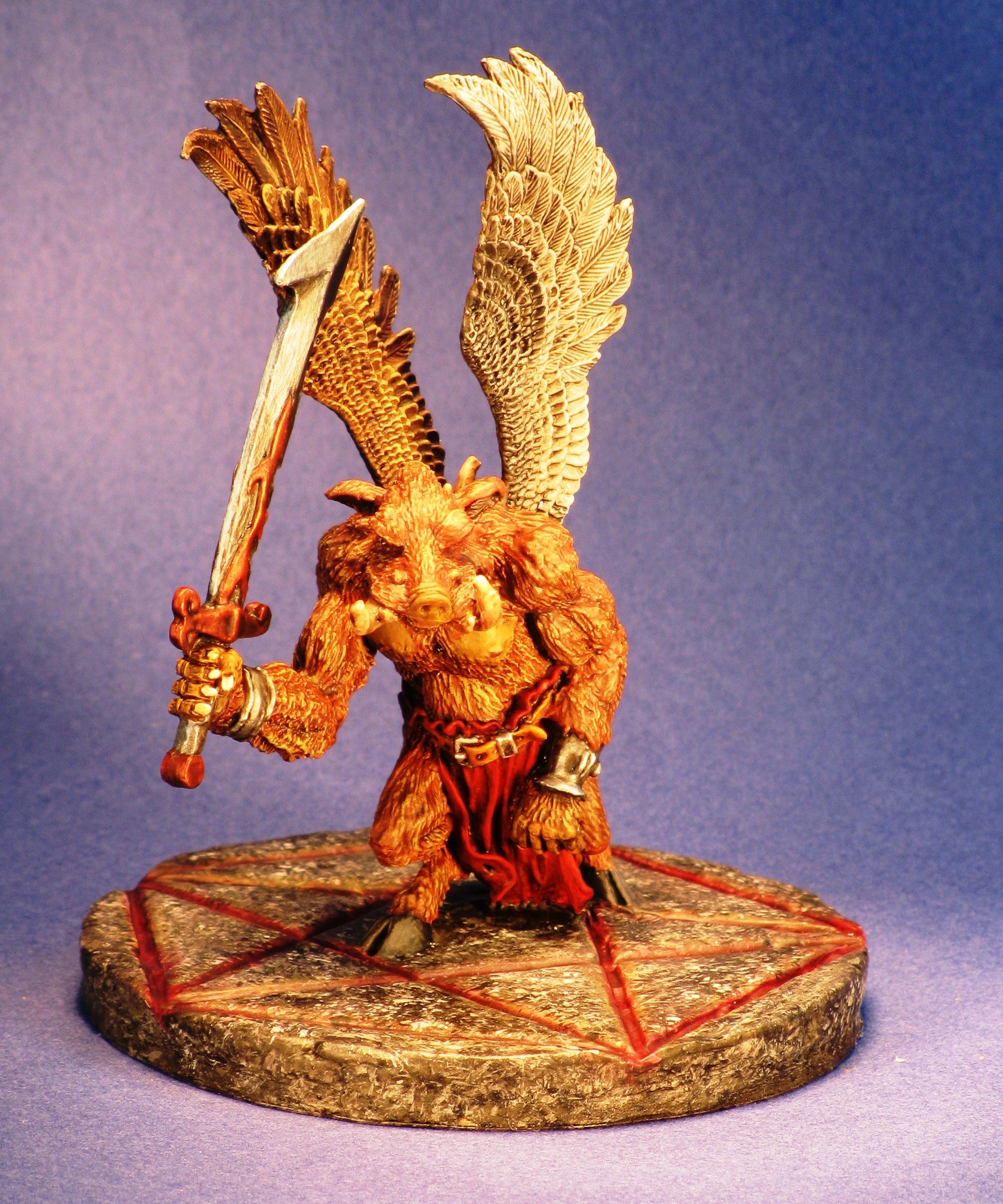 Reaper Miniatures 02644 Boar Demon Thornwart