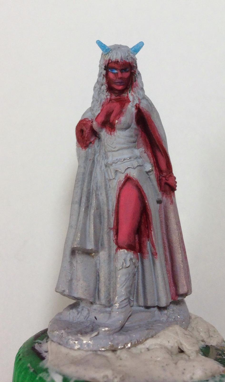 Wip Evil Female Tiefling Summoner Works In Progress