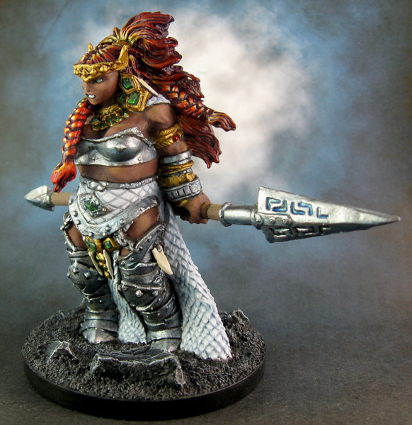 77100: Vanja, Fire Giant Queen - Show Off - Reaper Message ...