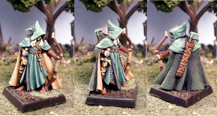 Arthrand Nightblade Wood Elf Sergeant Painted