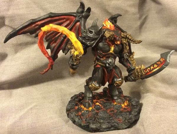 77315 Fire Demon Mirror's Minis - Show Off - Reaper ...