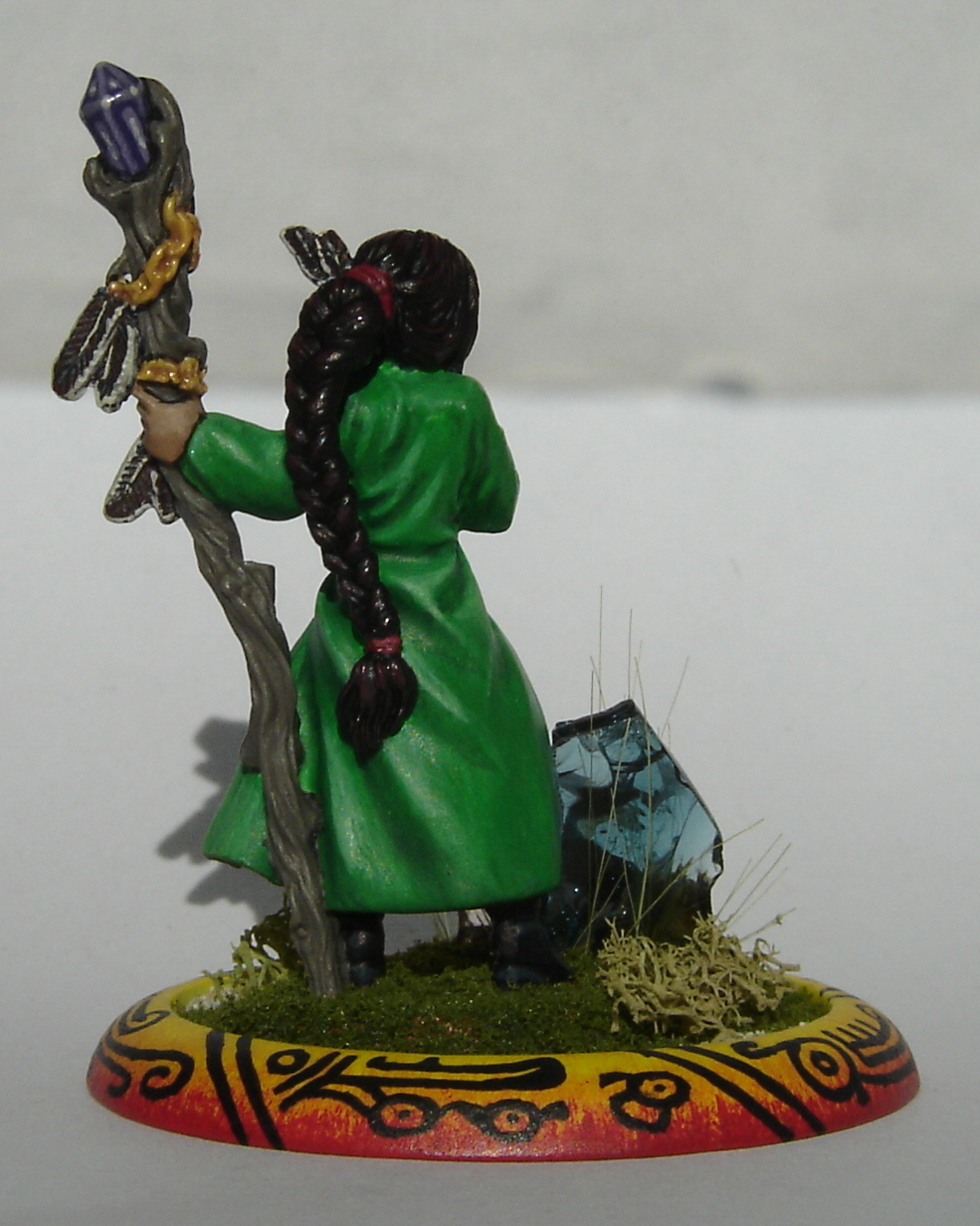 Sharyn Female Wizard by Reaper Reaper Miniatures 3093