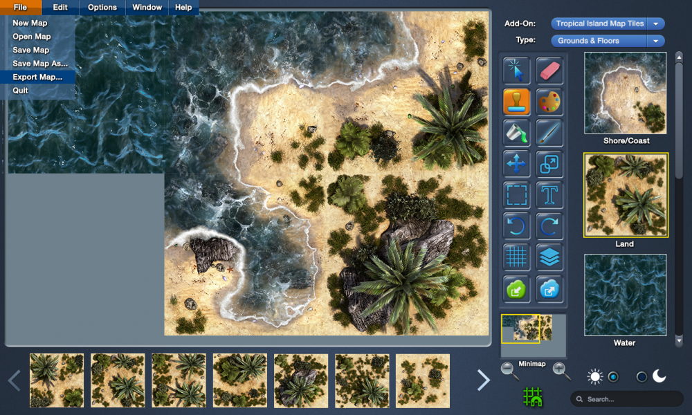 MapForge Interface Mockup v2 Menu.png