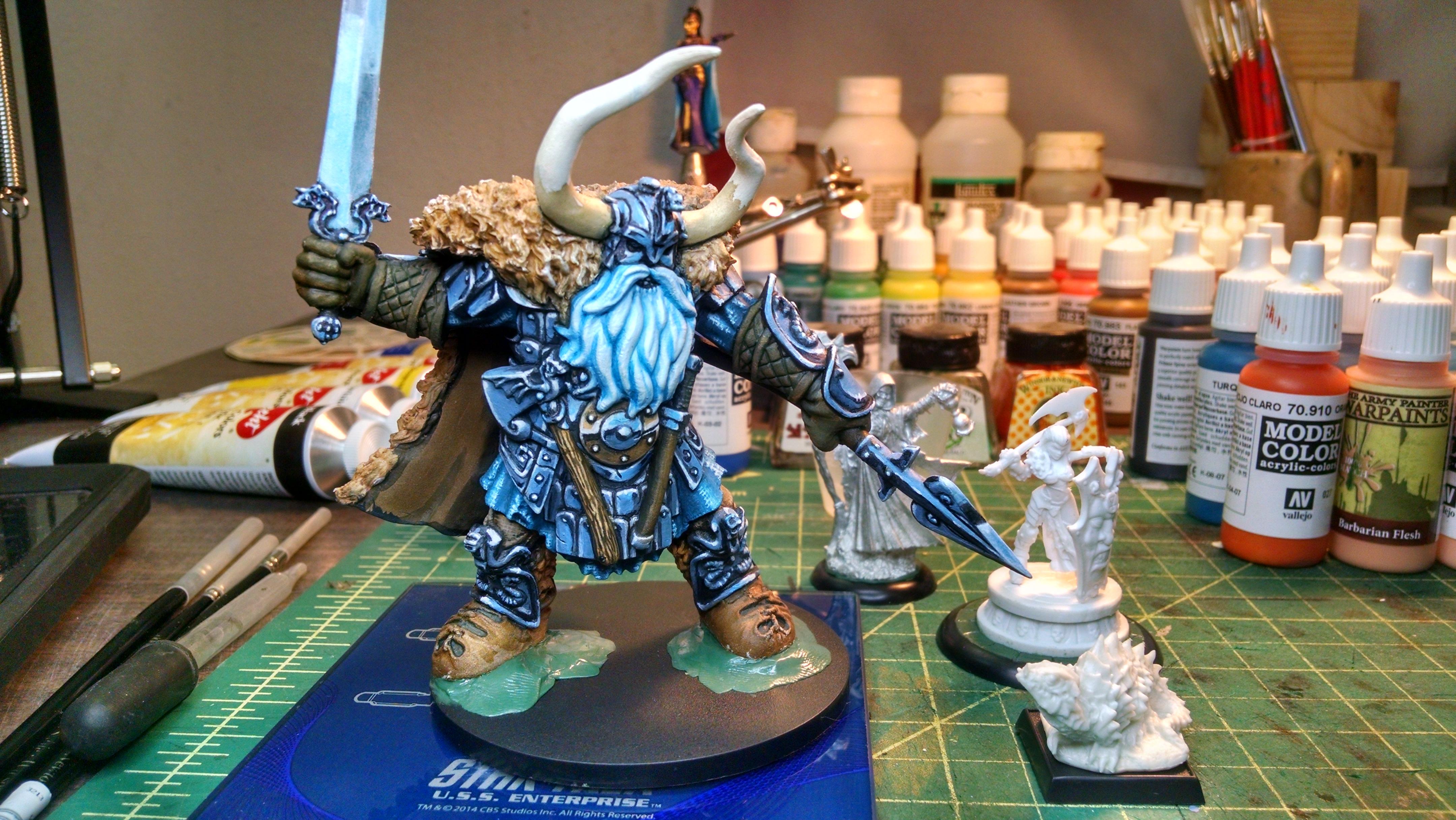 Frost Giant King Wip Works In Progress Reaper Message