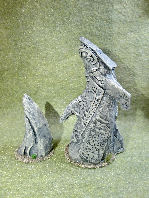 Dagon Statue Terrain from Bones 3 - Show Off - Reaper