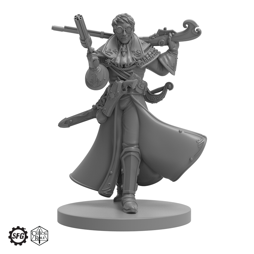 Critical Role official miniatures from Steamforged Games ...