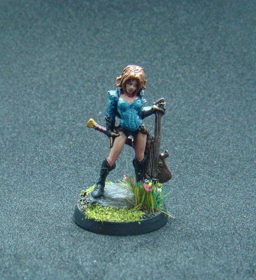 Astrid 1 Miniature Female Bard