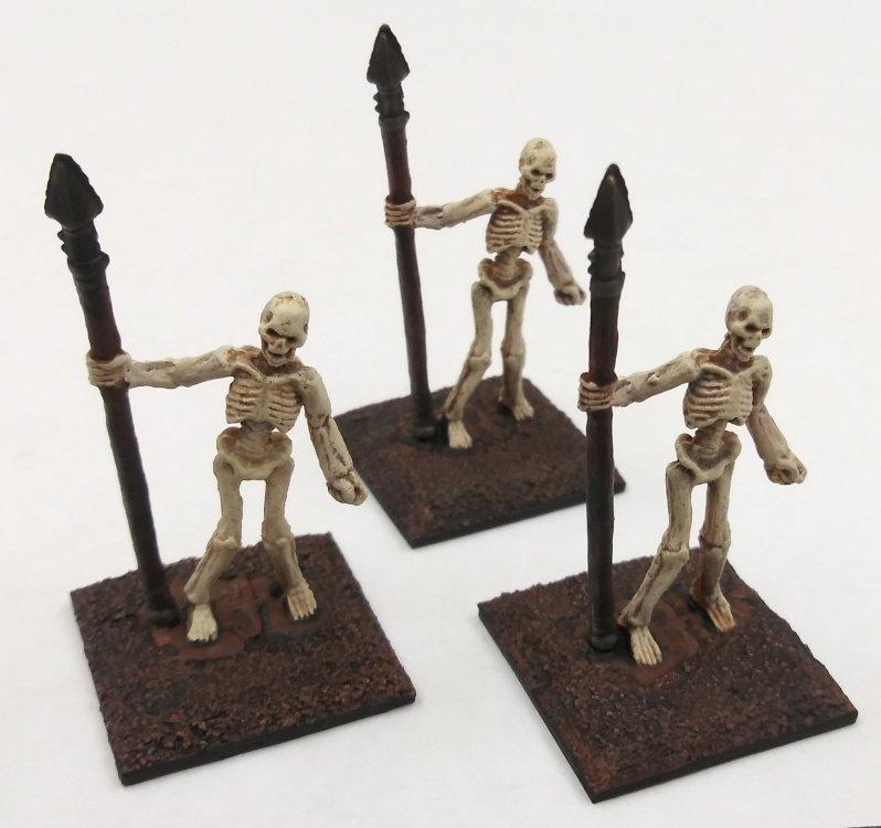 Minis - RPGs - Skeleton Spearmen.jpg