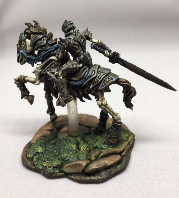 CAV Nightshade & Skeleton Knight on Horse - Show Off