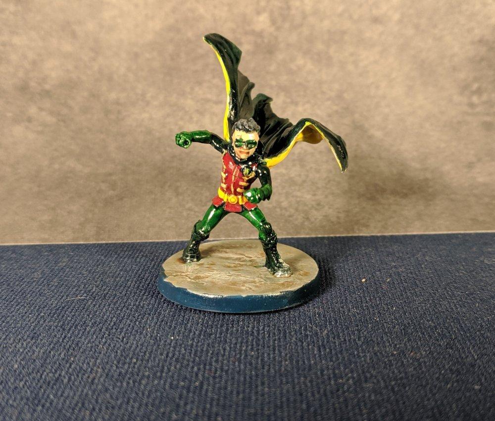 Damian Wayne Front