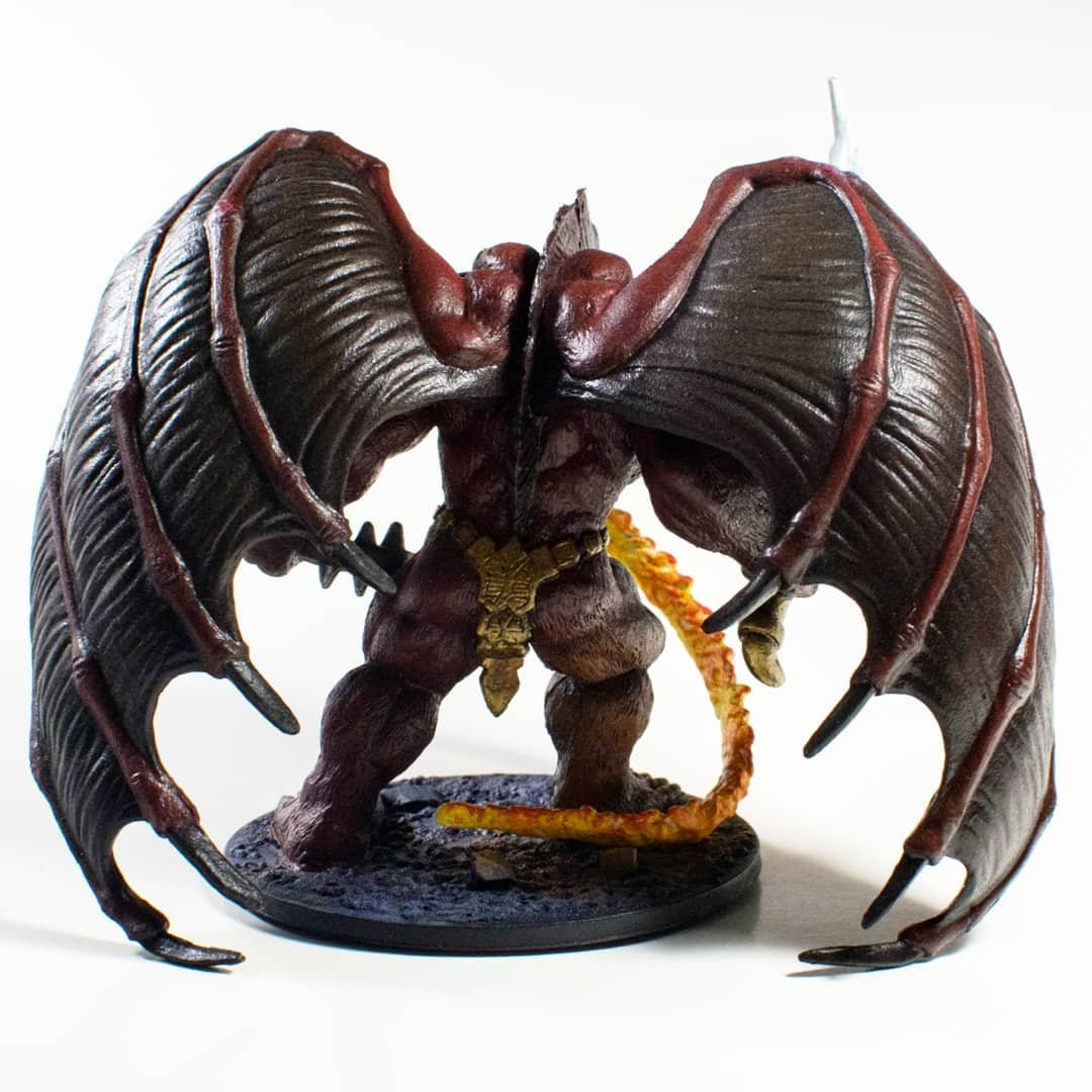 Legend of Drizzt ERRTU BALOR Fantasy D/&D Miniature Figure by WOTC!!
