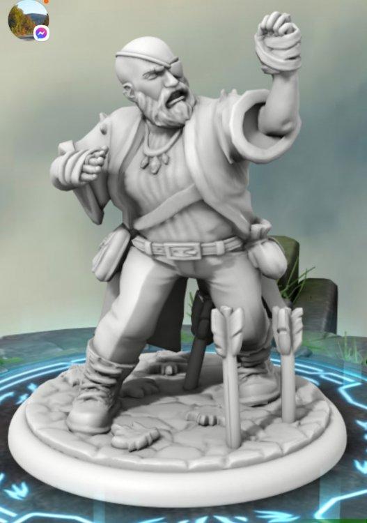 Tor Skullcrusher, Dwarven Tattooed Monk