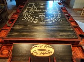 Hammered Game Table one.jpg