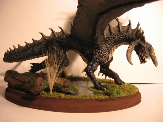 Ancient black dragon 5e